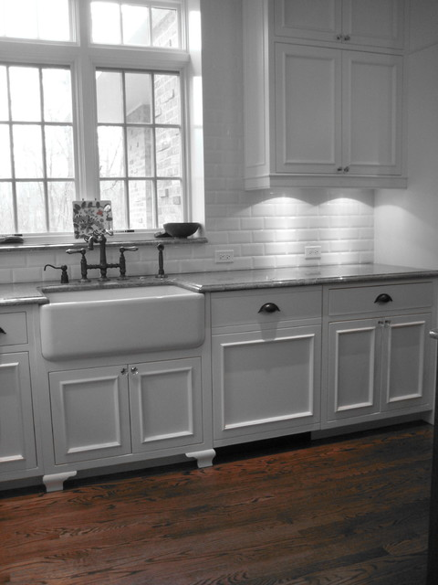 Farmhouse Sink White Cabinets : farmhouse sink farmhouse-kitchen