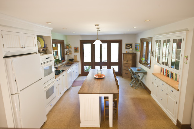 Farmhouse Style Chester County Kitchen Remodel in West Chester, PA traditional-kitchen