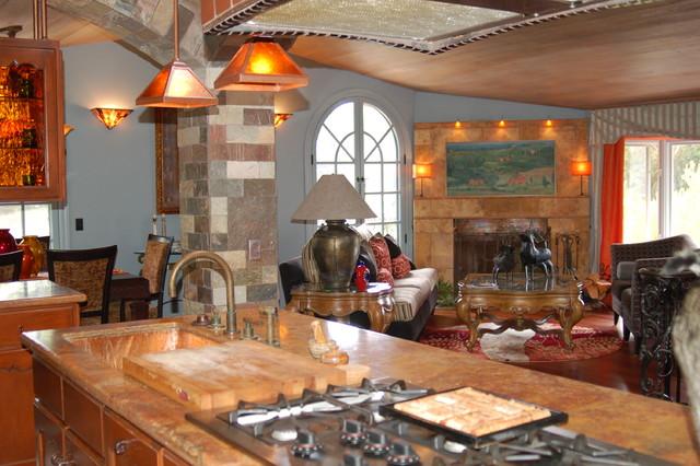 Farmhouse Style Remodel mediterranean-kitchen