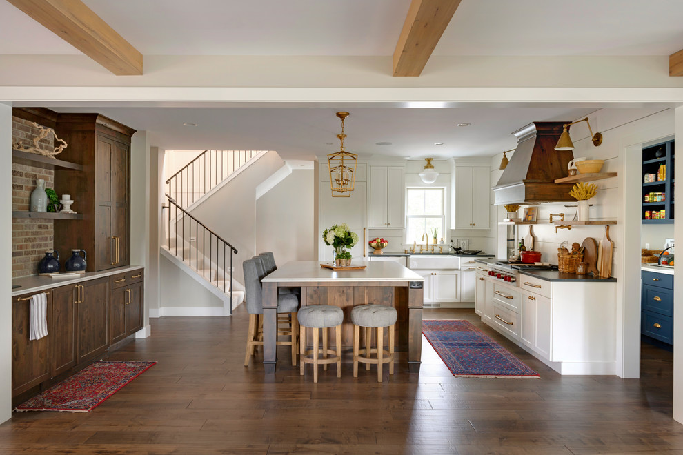 Farmhouse Transitional Kitchen