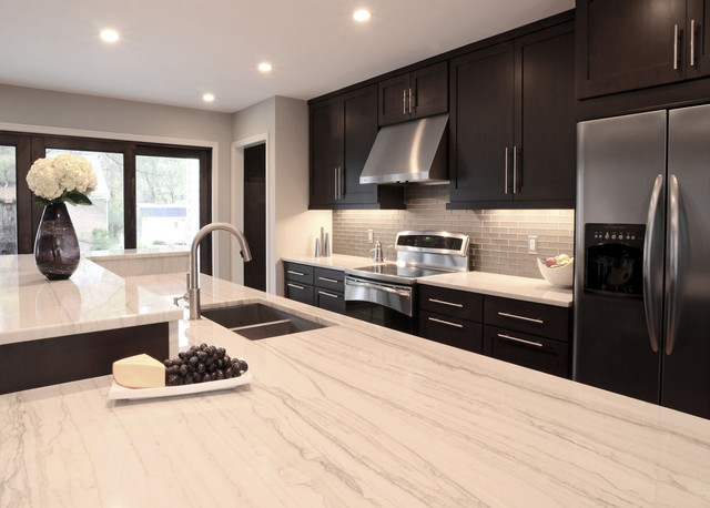 Farmsworth Residence Contemporary Kitchen Cincinnati By Drawing Dept