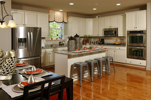 Model At Beechtree Modern Kitchen DC Metro By Beazer Homes