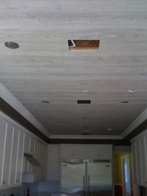 wooden kitchen wall wallpaper - photo #15