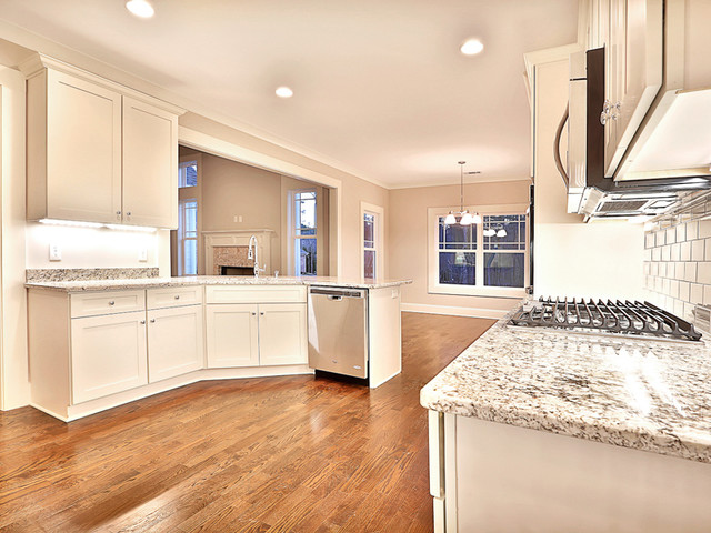 Fayetteville, GA New Construction traditional-kitchen
