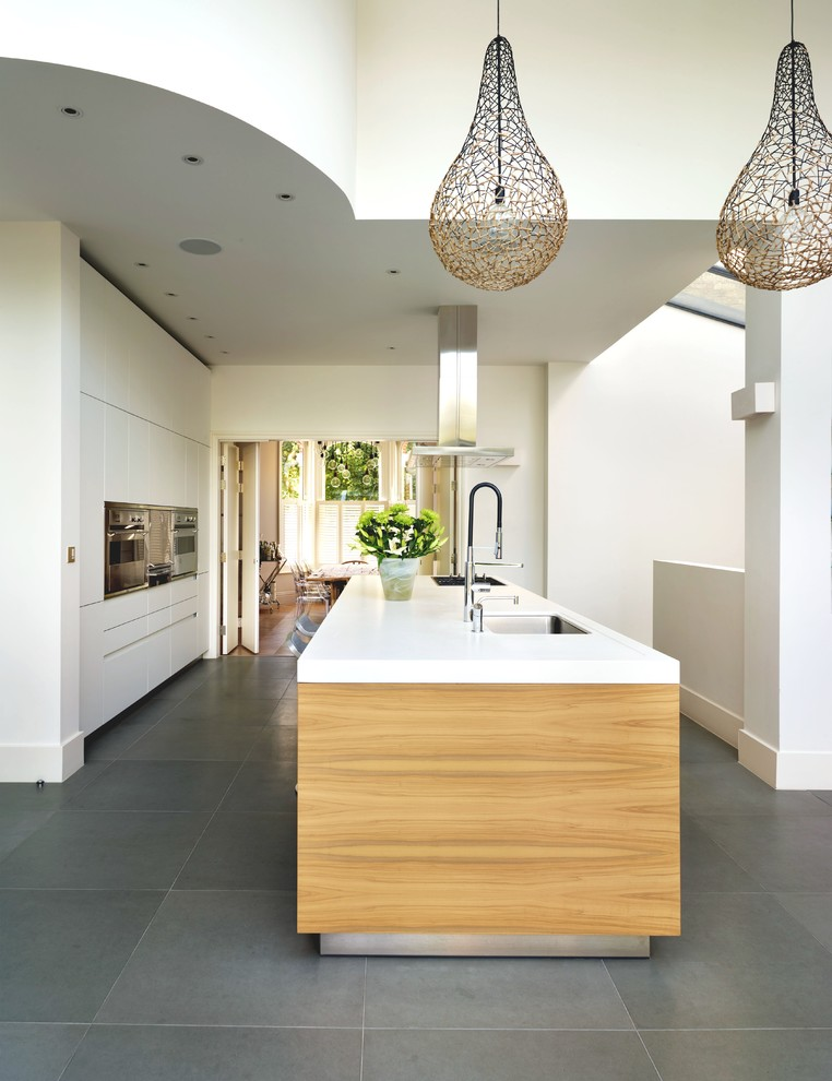 Featherstone - Contemporary - Kitchen - Oxfordshire - by ...