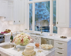 Featured in Gentry Magazine & CalFinder - Danenberg Design White Kitchen traditional kitchen