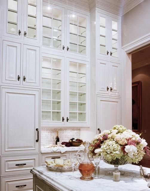Featured in Gentry magazine. - Luxurious White Kitchen traditional-kitchen