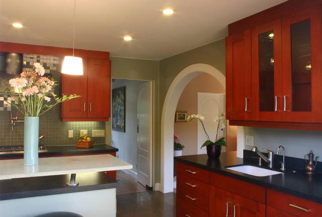 Featured in Gentry magazine  -  Menlo Park Modern Kitchen modern-kitchen