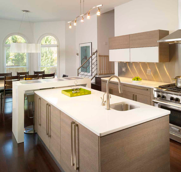 Featured in kitchen trends magazine modern kitchen atlanta by instinctive design Modern kitchen design ideas houzz