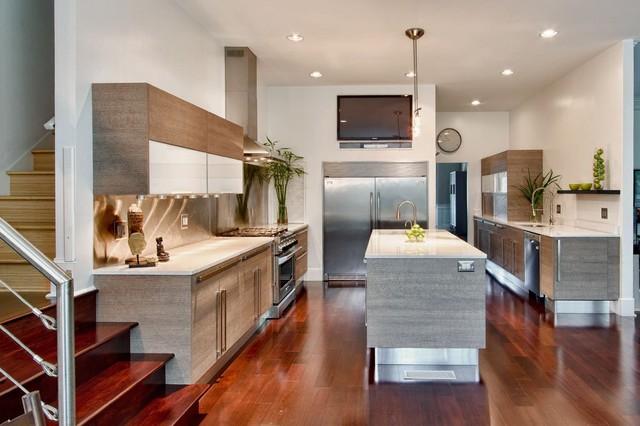 Featured in Kitchen Trends Magazine modern-kitchen