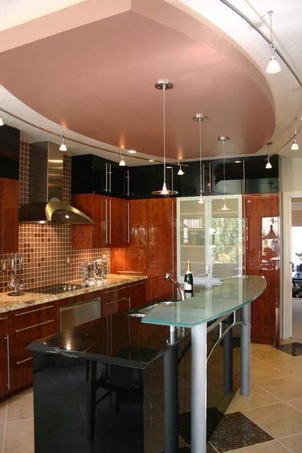Featured in Sunset Books & CA Home and Design - Danenberg Design Modern Kitchen contemporary-kitchen