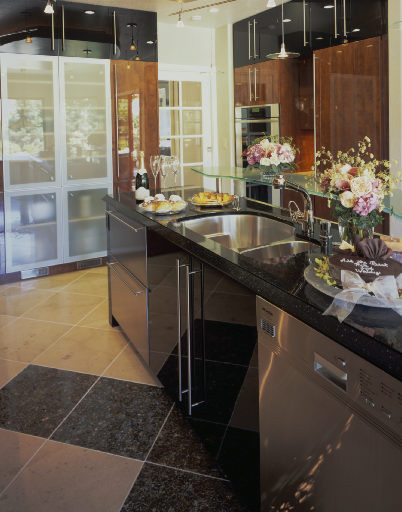 Featured in Sunset Books & CA Home and Design - Danenberg Design Modern Kitchen modern-kitchen