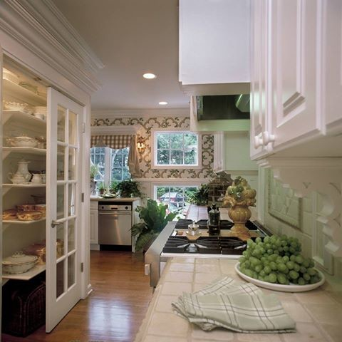 Federal style home traditional kitchen miami by - Federal style interior decorating ...