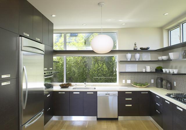Feldman architecture - Modern kitchen shelving ...