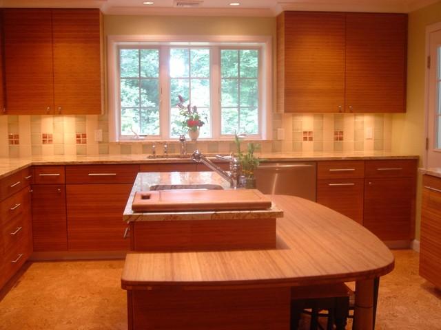 Feng Shui Kitchen modern-kitchen