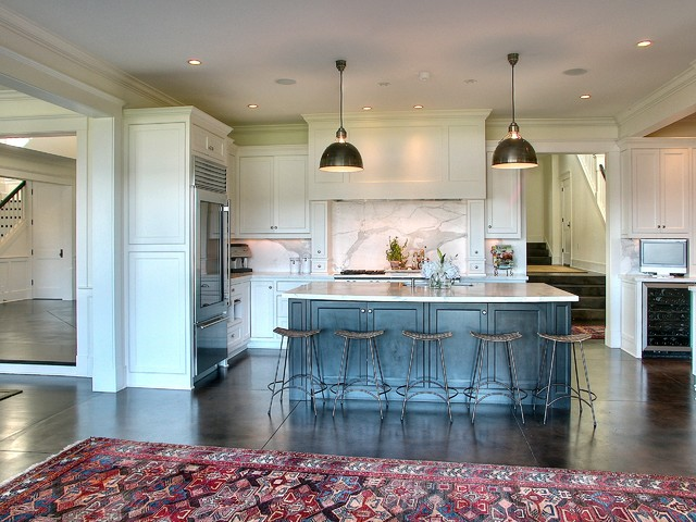 traditional kitchen by Christian Gladu Design