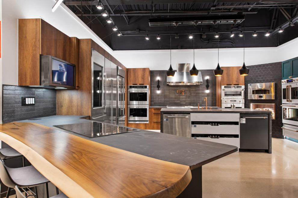 Ferguson Showroom Kitchen Display - Contemporary - Kitchen ...