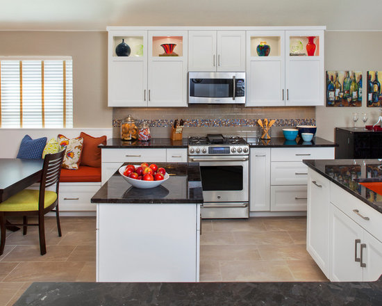 Red Kitchen Sink Home Design Ideas, Pictures, Remodel and Decor