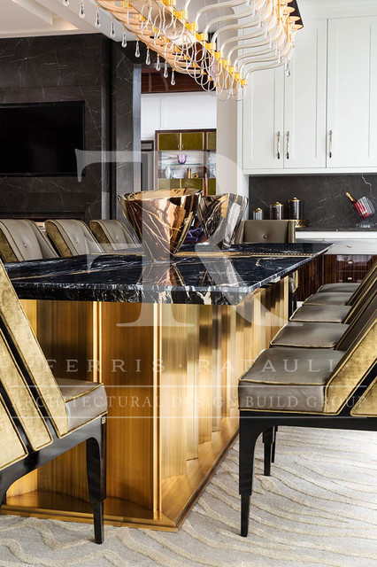 Ferris Rafauli Luxury Furniture Transitional Kitchen