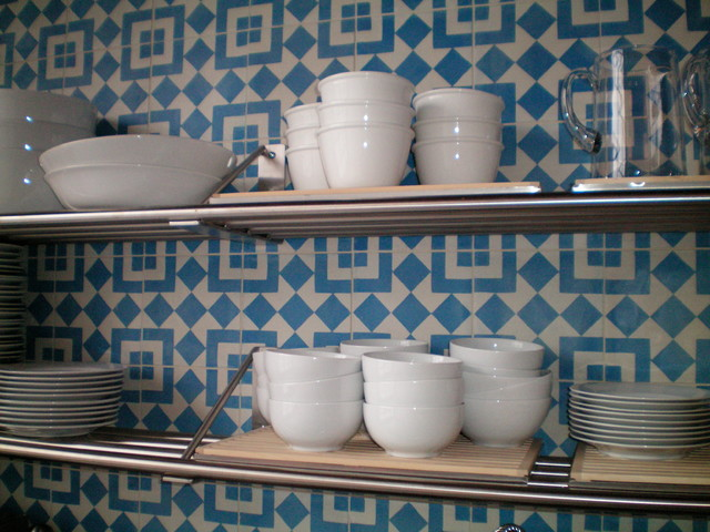 Fez 2 Wall Install eclectic-kitchen