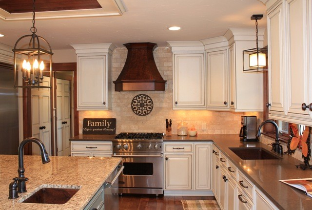 Fieldstone Cabinetry Remodel - Eclectic - Kitchen - Grand ...
