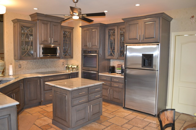 Fieldstone Slate Kitchen - Transitional - Kitchen ...