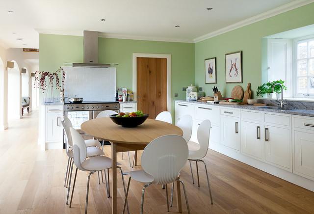 Fife Steading Conversion Kitchen Scotland By Robertson Lindsay Interiors