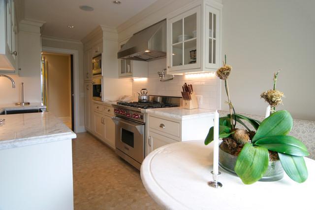 Fifth Avenue Condo Renovation traditional-kitchen