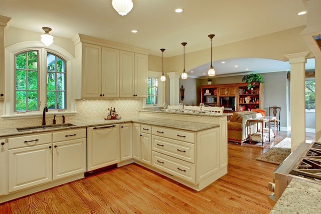 Fine Construction traditional kitchen