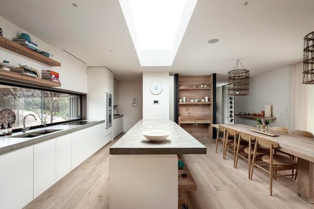 Fingal Residence by JAM Architects contemporary-kitchen