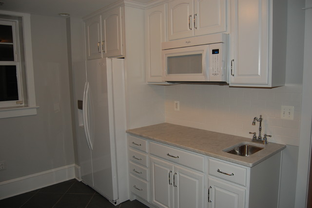 Finished Basement Kitchen Pantry - Traditional - Kitchen - dc metro