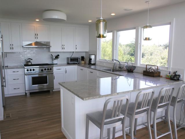 Fire Island Home contemporary-kitchen