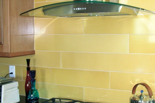 Fireclay Tile - Claymonde Ceramic Sheets kitchen