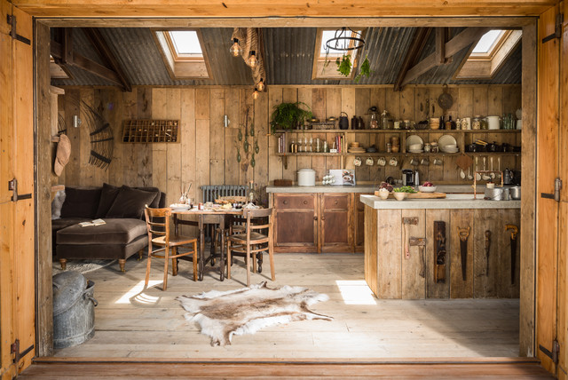 Firefly - Rustic - Kitchen - Cornwall - by Unique Home Stays