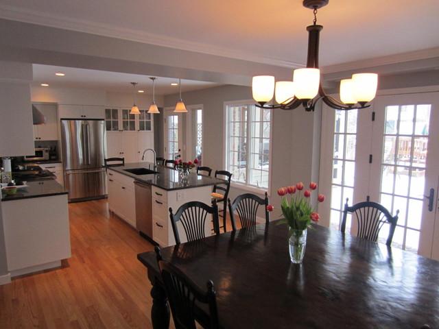 First Floor Remodel: Burns Park (2012) traditional-kitchen