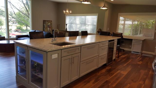 Fine First Floor Renovation Transitional Kitchen Download Free Architecture Designs Embacsunscenecom