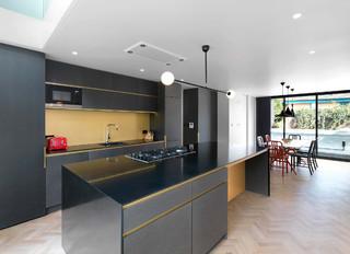 75 Most Popular Kitchen Diner With Black Worktops Design Ideas For