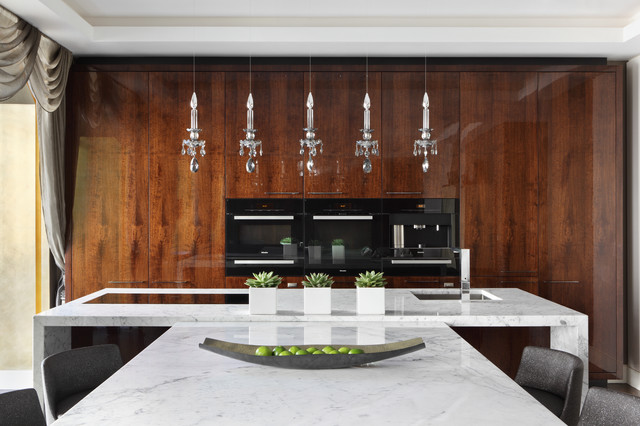 Fitzrovia Apartment - Kitchen contemporary-kitchen
