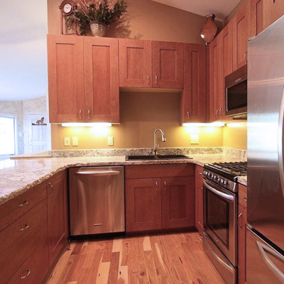 Fix and Flip Evergreen traditional-kitchen