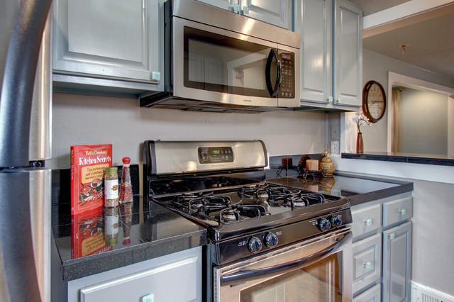 Fix and Flip in Denver, CO midcentury-kitchen