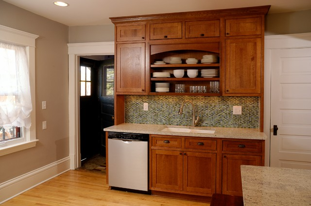 Flanery kitchen craftsman kitchen minneapolis by kitchens by design - Kitchen design minneapolis ...