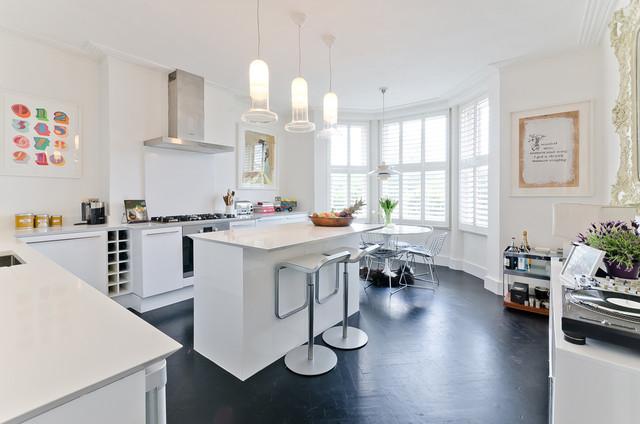 Flat Renovation contemporary-kitchen