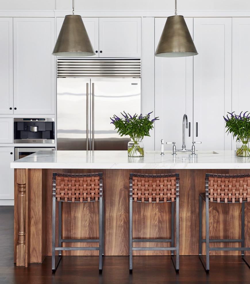 Flatiron Apartment - Transitional - Kitchen - New York ...