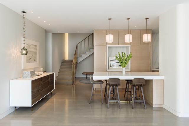 Flatiron Residence - Contemporáneo - Cocina - Nueva York - de DHD ...