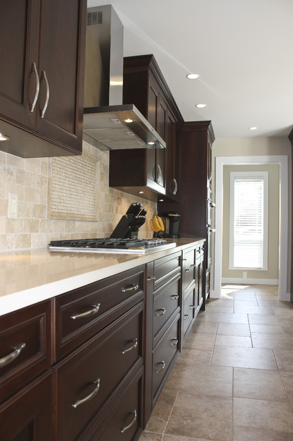 Fleetwood Renovation - Traditional - Kitchen - other metro - by Sarah Gallop Design Inc.