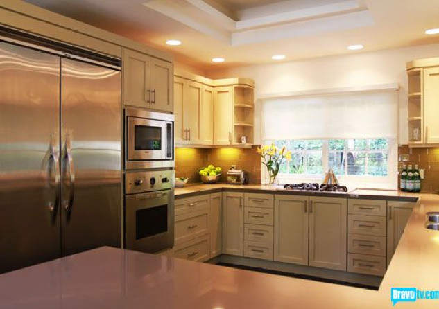Delicieux Contemporary Kitchen Ideas   Example Of A Trendy Kitchen Design In Los  Angeles