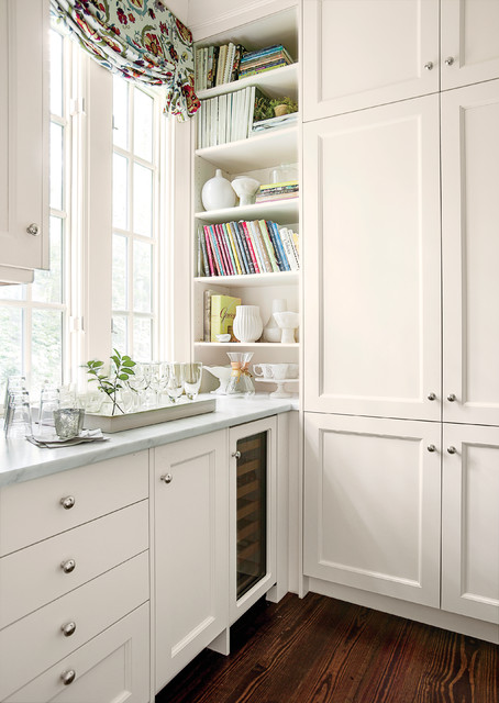 Floor To Ceiling Storage Traditional Kitchen