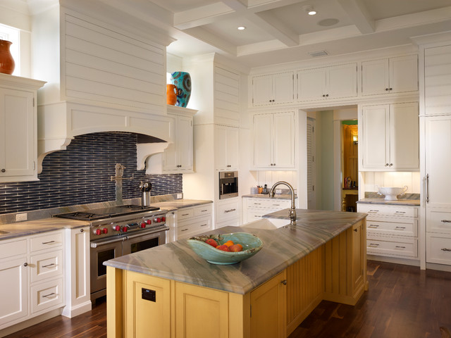 Floor To Ceiling White Inset Cabinetry Contemporary