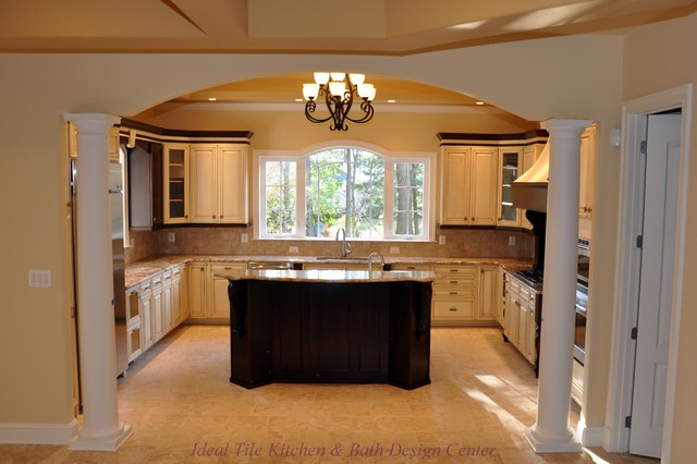 Flooring Traditional Kitchen Dc Metro By Ideal