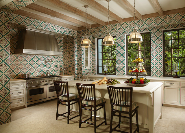 Florida Cape Dutch Mediterranean Kitchen Miami By